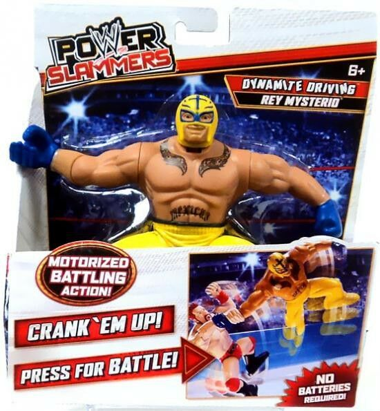 WWE Power Slammers: Rey Mysterio
