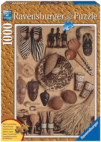 African Artifacts 1000 pc