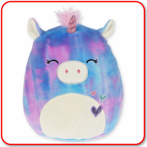 "Squishmallows - 12"" VALENTINES Aurora the Unicorn"