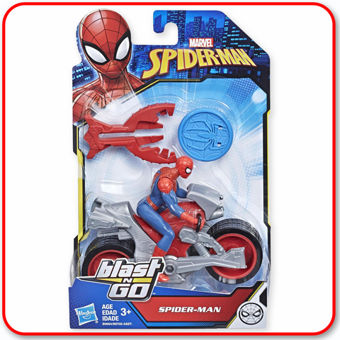 Spiderman - Blast n Go : Spider-Man