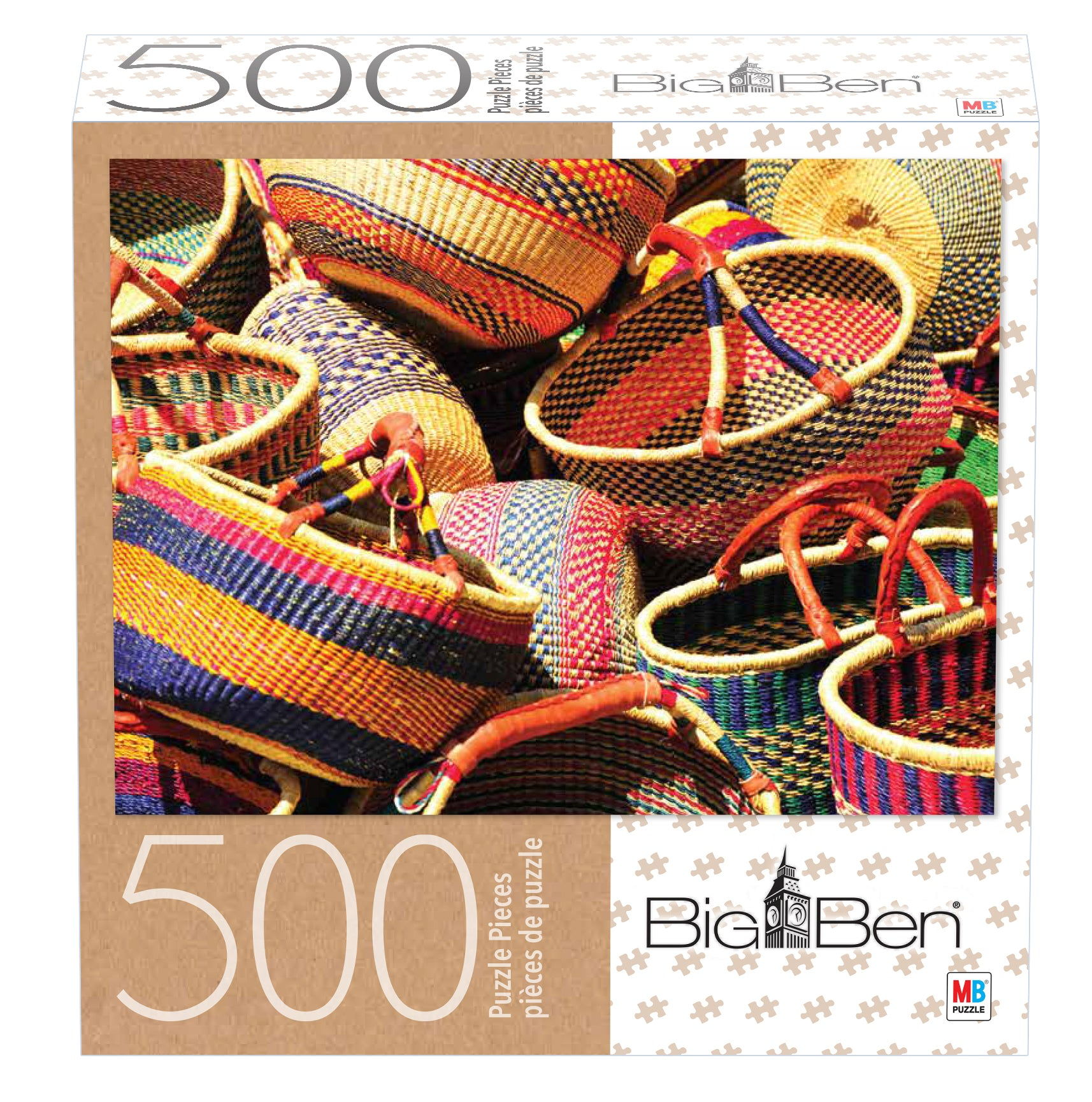 Big Ben Puzzle : Baskets - 500pc