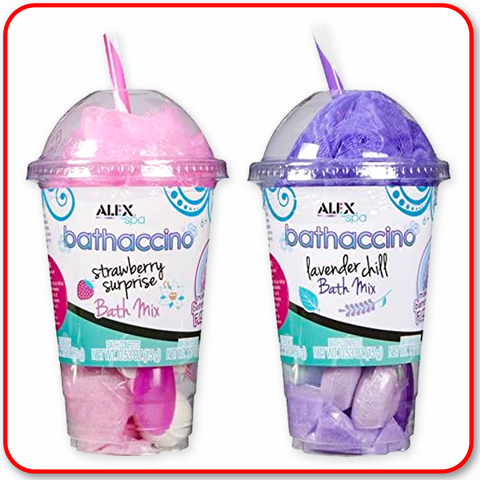 Alex - Bathaccino : 2 Pack (Pink & Purple)