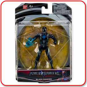 "Power Rangers - Movie Figure 5"" : Black Ranger"