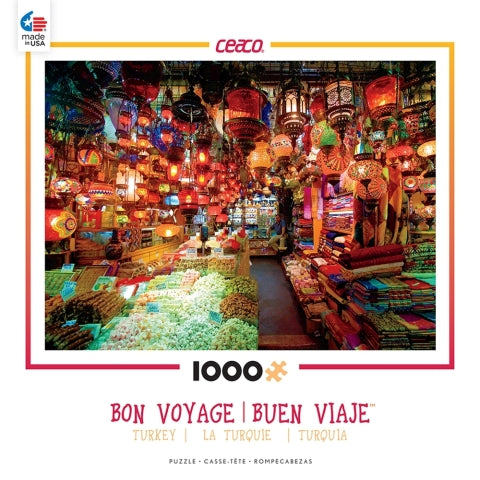 Bon Voyage Turkey 1000 Piece Puzzle By  Ceaco