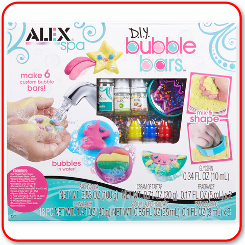 Alex D.I.Y. - Bubble Bars