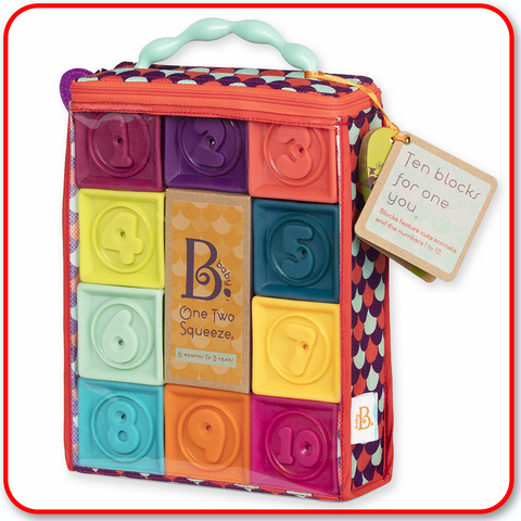 BATTAT - One Two Squeeze Soft Blocks