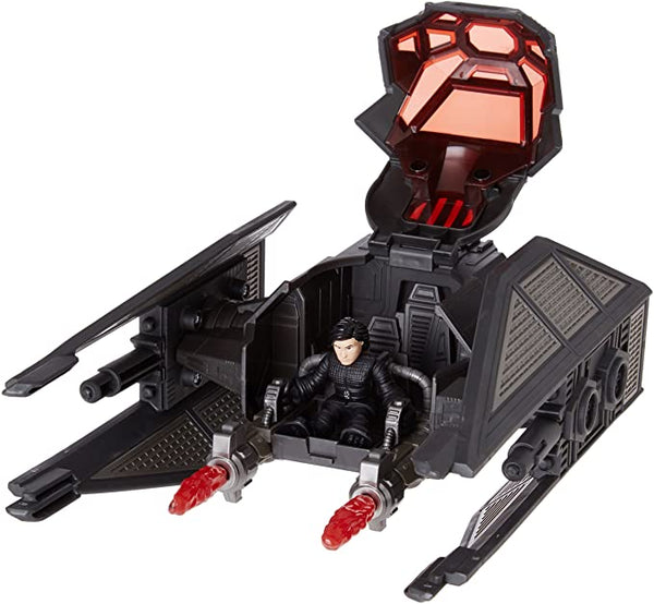 Star Wars Galactic Heroes - Dlx Vehicle Figure Kylo Ren / Tie Silencer