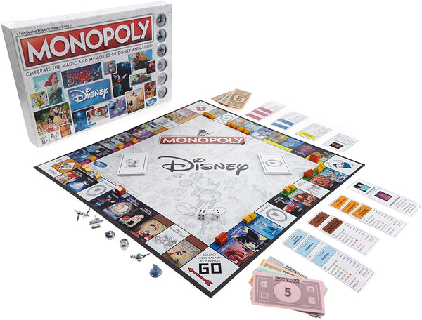 Monopoly - Walt Disney Animation Board Game