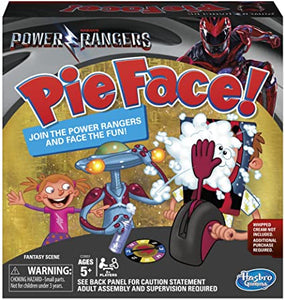 Pie Face! - Power Rangers Game