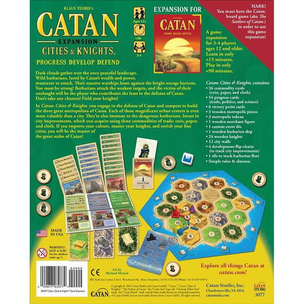 Catan - Expansion Cities & Knights