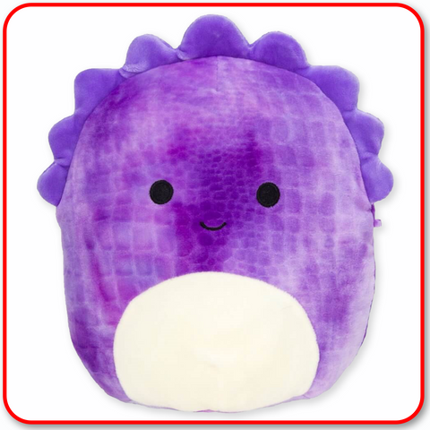 "Squishmallows - 12"" FANTASY Delilah the Purple Dinosaur"