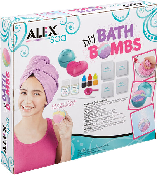 Alex Spa - D.I.Y. Bath Bombs