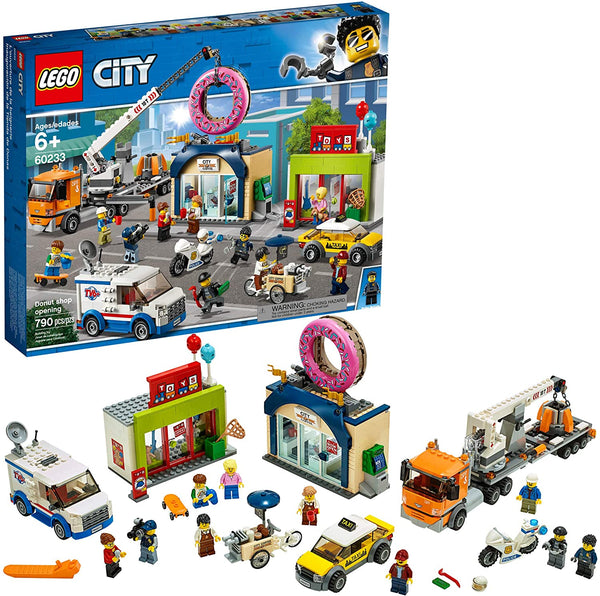 LEGO City - Donut Shop Opening