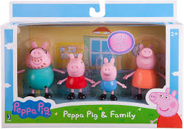 PEPPA PIG AND FAMILY FIGURES 3""