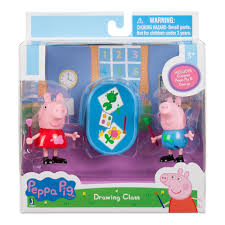 PEPPA PIG 2PK PLAY FIGURES 3""