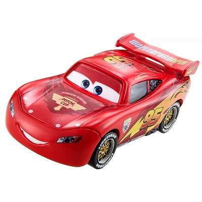 Disney Cars 3 - 1:55 Diecast : Lightning McQueen with Racing Wheels