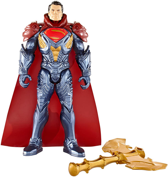 "Batman vs. Superman DOJ - Epic Battle ARMOR Superman 6"" Figure"