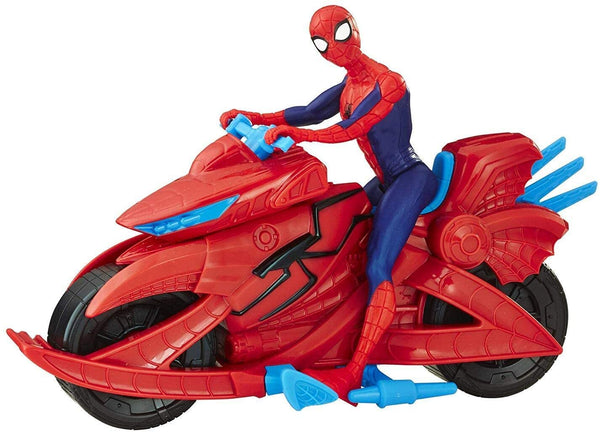 Spiderman - Figure with Cycle