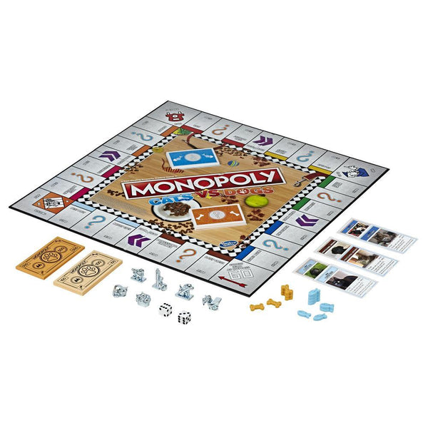 Monopoly - Cats vs Dogs Board Game