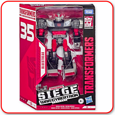 Transfomers - Siege WFC Dlx Figure Bluestreak