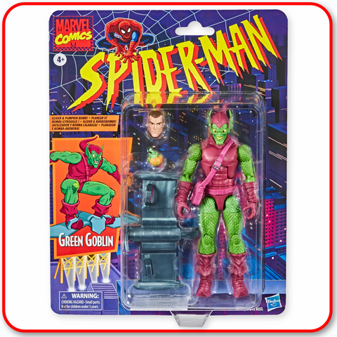 "Marvel Spiderman Legends Vintage - 6"" Green Goblin"
