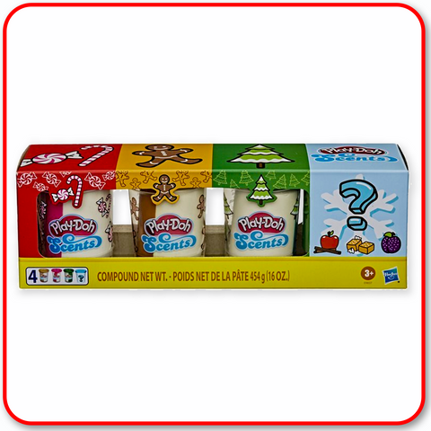Playdoh - Scents Holiday 4 Pack