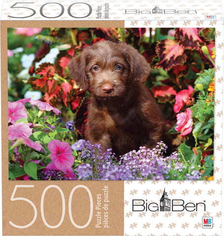 Big Ben Puzzle : Fluffy Lab - 500pc