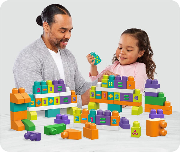 Mega Blocks - Building Basics Stack & Learn Math