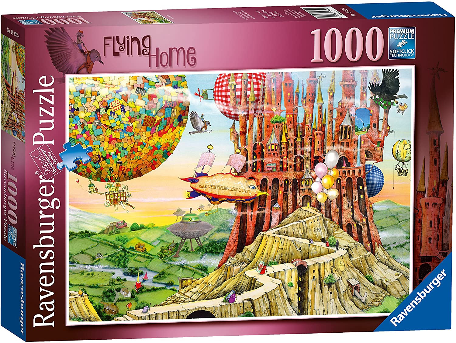 Flying Home  1000 pc Puzzle