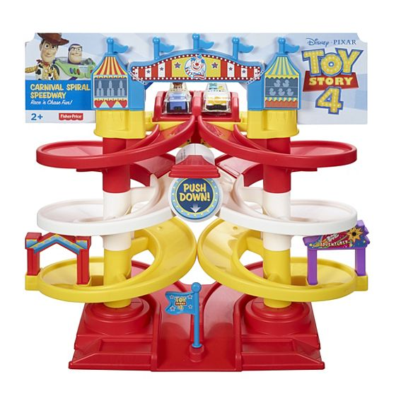 Fisher-Price® - Disney·Pixar Toy Story 4 Carnival Spiral Speedway