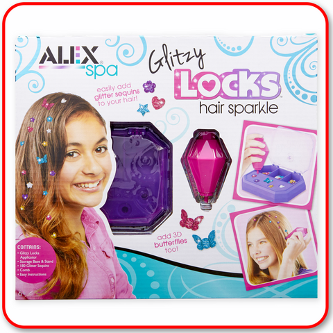 Alex D.I.Y. - Glitzy Sparkle Hair Locks