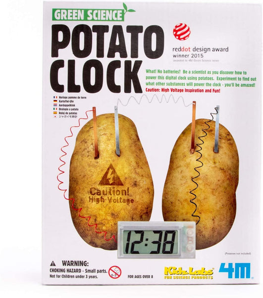 4M - Potato Clock