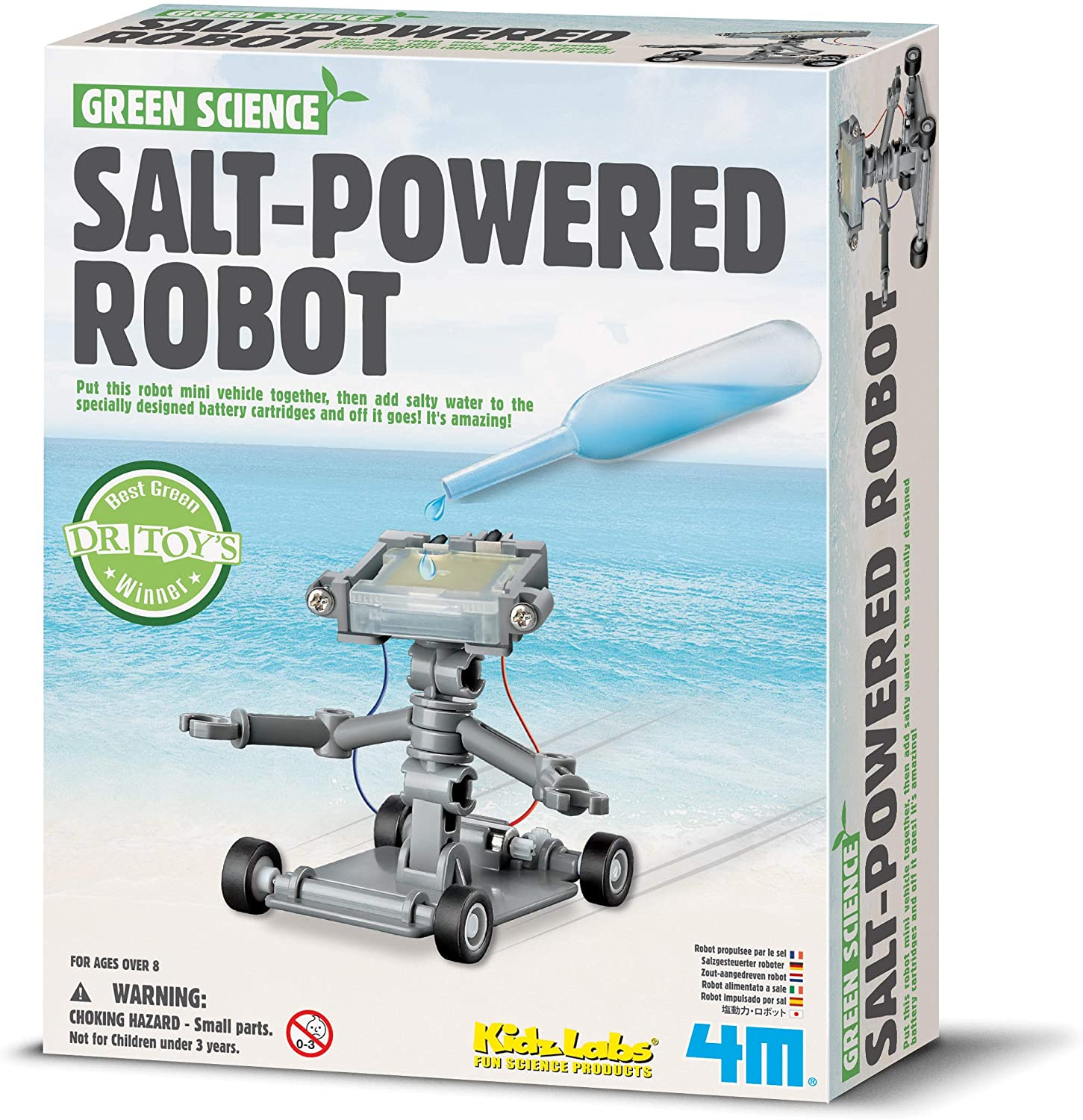 4M - Salt Water Robot