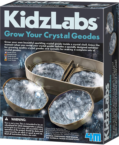 4M - Grow Your Crystal Geodes