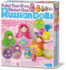 4M - Trinket Box Russian Dolls