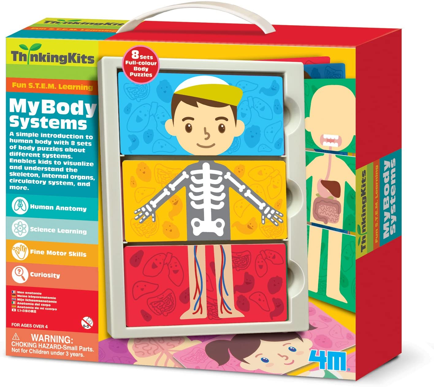 4M - Thinking Kits : My Body Systems