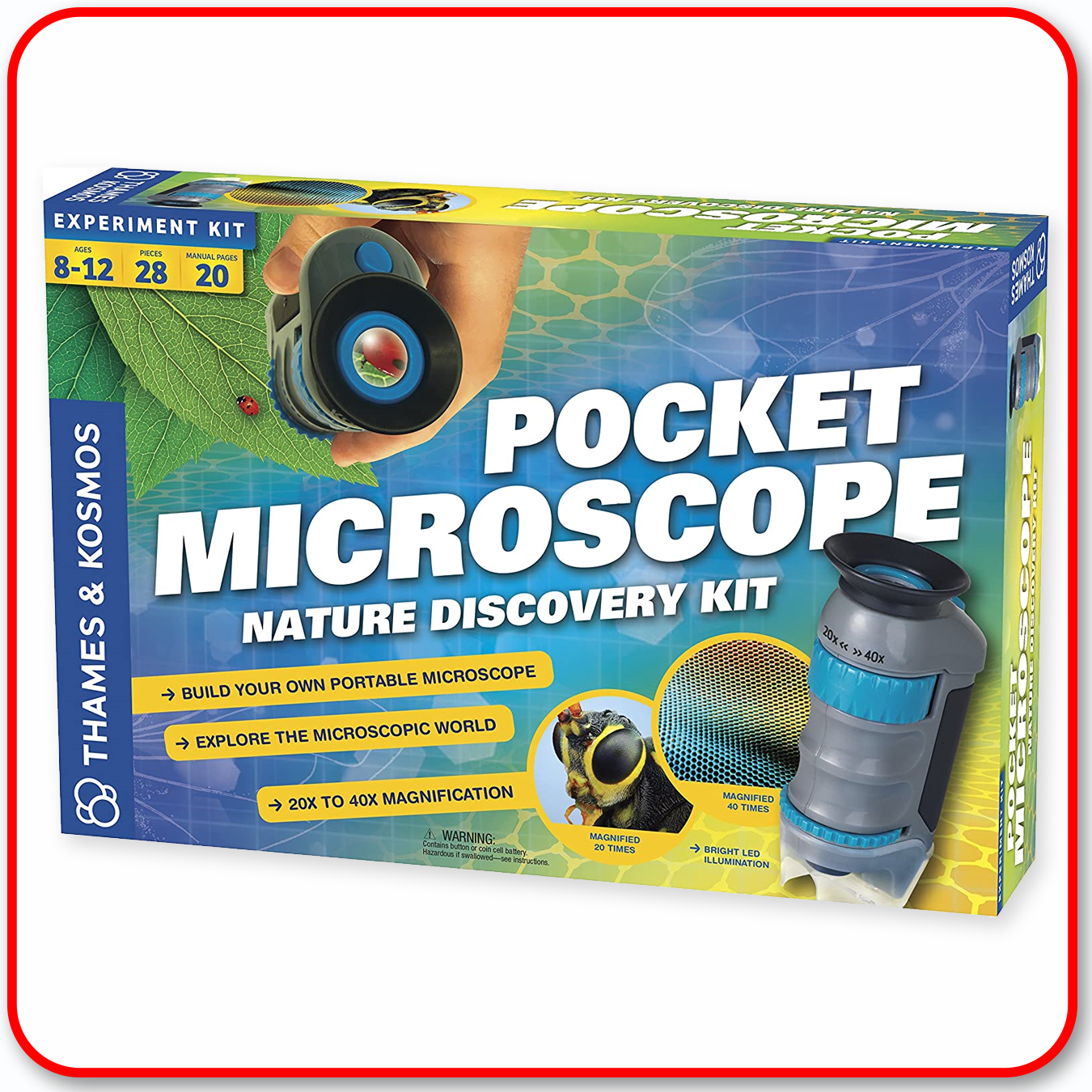 Pocket Microscope - Nature Discovery Kit