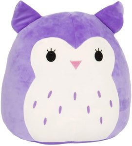 "Squishmallows - 7"" Holly the Purple Owl"