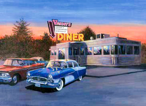 Paint By Numbers Large - 50's Diner