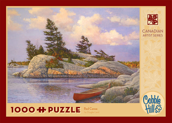 Red Canoe - Cobble Hill 1000pc Puzzle