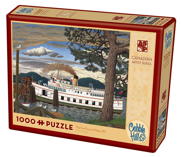 The Car Ferry at Sidney BC - Cobble Hill 1000pc Puzzle