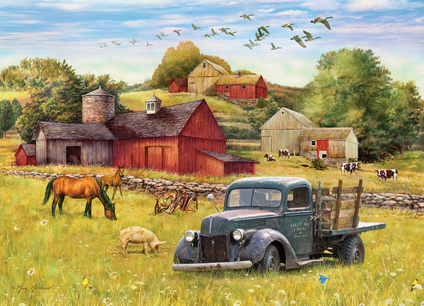 Summer Afternoon on the Farm - Cobble Hill 1000pc Puzzle