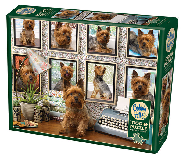 Yorkies Are My Type - Cobble Hill 1000pc Puzzle