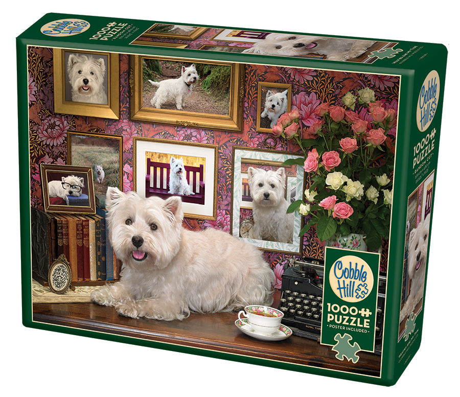 Westies Are My Type - Cobble Hill 1000pc Puzzle