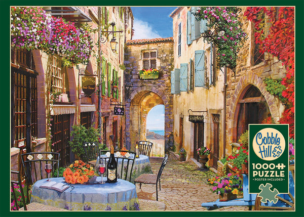 French Village - Cobble Hill 1000pc Puzzle
