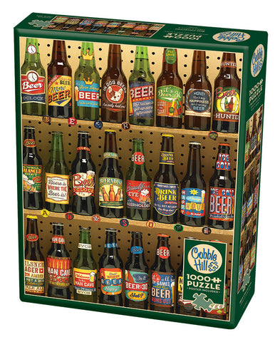 Beer Collection - Cobble Hill 1000pc Puzzle