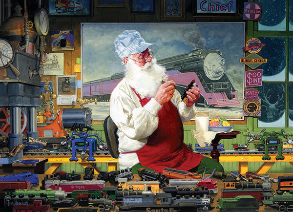 Santa's Hobby - Cobble Hill 1000pc Puzzle