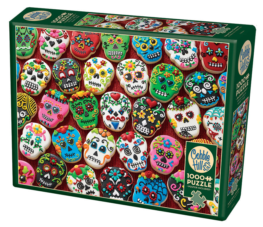 Sugar Skull Cookies - Cobble Hill 1000pc Puzzle