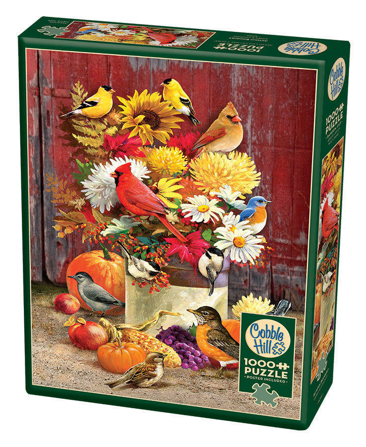 Autumn Bouquet - Cobble Hill 1000pc Puzzle