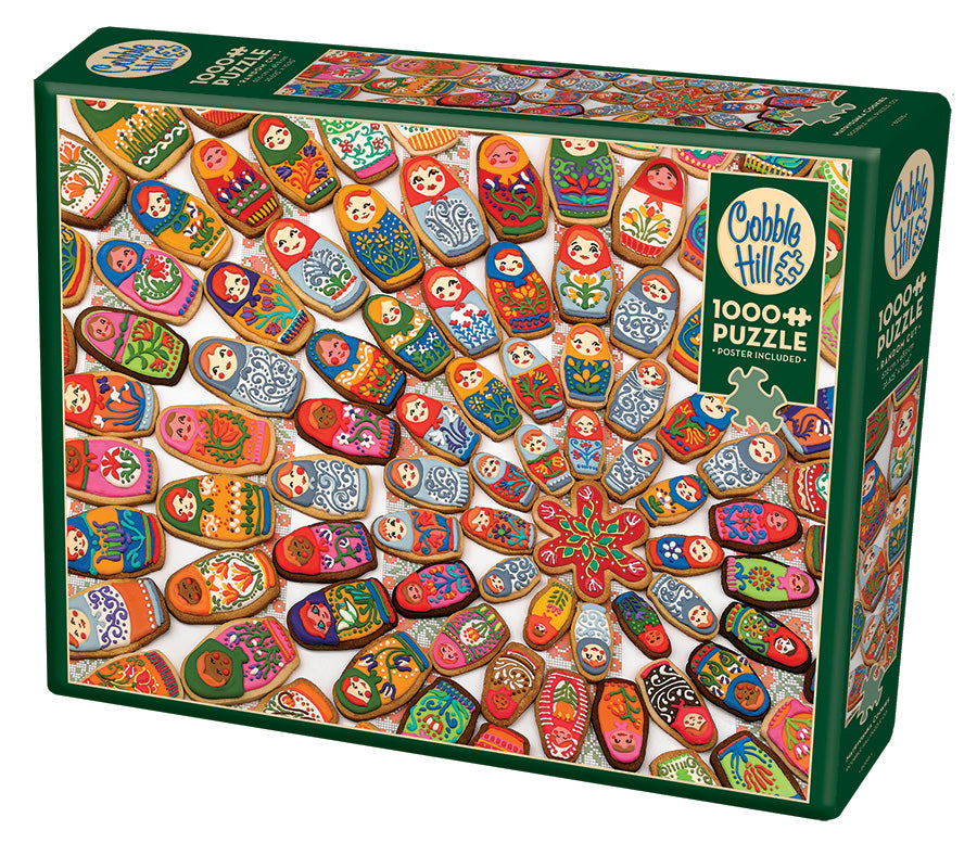 Matryoshka Cookies - Cobble Hill 1000pc Puzzle